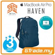 STM Haven Laptop Backpack Bag Apple MacBook Pro Air 15' Blue