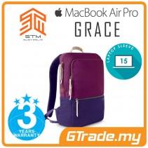 STM Grace Pack Laptop Backpack Bag Apple MacBook Pro Air 15' Dark Purple
