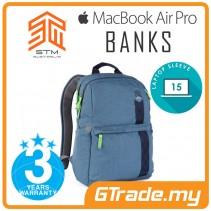 STM Banks Laptop Backpack Bag Apple MacBook Pro Air 15' Blue