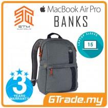 STM Banks Laptop Backpack Bag Apple MacBook Pro Air 15' Grey