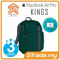 STM Kings Laptop Backpack Bag Apple MacBook Pro Air 15' Green