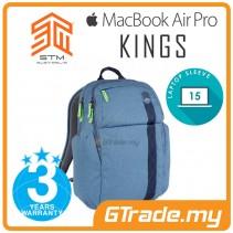 STM Kings Laptop Backpack Bag Apple MacBook Pro Air 15' Blue