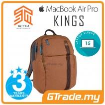 STM Kings Laptop Backpack Bag Apple MacBook Pro Air 15' Brown