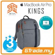 STM Kings Laptop Backpack Bag Apple MacBook Pro Air 15' Grey