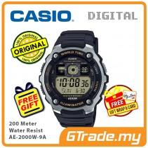 CASIO STANDARD AE-2000W-9A Digital Watch | 10 Yrs Batt. WR200M