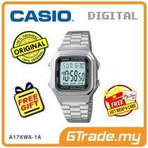 CASIO STANDARD A178WA-1AV Digital Watch | Vintage Alarm Auto Calendar