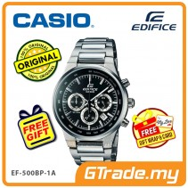 CASIO EDIFICE EF-500BP-1A Chronograph Watch   Solid Individually