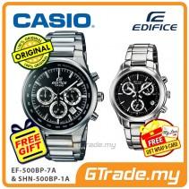 CASIO EDIFICE SHEEN COUPLE EF-500BP-1A & SHN-5000BP-1A Watch