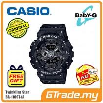 CASIO BABY-G BA-110ST-1A Digital Ladies Women Watch | Twinkling Stars