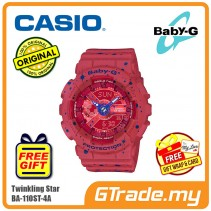 CASIO BABY-G BA-110ST-4A Digital Ladies Women Watch | Twinkling Stars