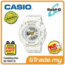 CASIO BABY-G BA-110ST-7A Digital Ladies Women Watch | Twinkling Stars