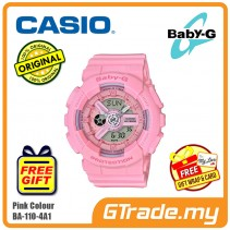 CASIO BABY-G BA-110-4A1 Digital Ladies Women Watch | New Pink Color