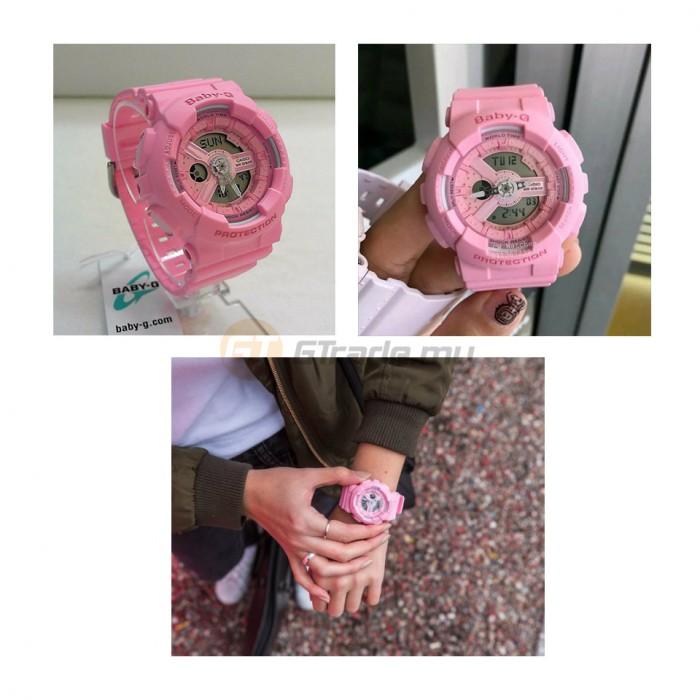 236d8c4db25c CASIO BABY-G BA-110-4A1 Digital Ladies Women Watch | New Pink Color [PRE]