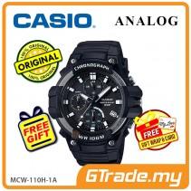 CASIO MEN MCW-110H-1A Chronograph Watch | Tough Case