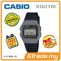 [READY STOCK] CASIO MEN F-91WM-1B Digital Watch | Classic Since 1992