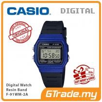 [READY STOCK] CASIO MEN F-91WM-2A Digital Watch | Classic Since 1992