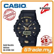 [READY STOCK] CASIO G-SHOCK GA-810B-1A9 Digital Watch | Gold Buckle Edition