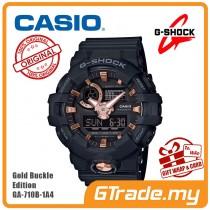 [READY STOCK] CASIO G-SHOCK GA-710B-1A4 Digital Watch | Gold Buckle Edition