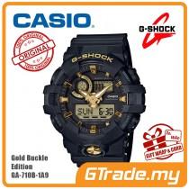 [READY STOCK] CASIO G-SHOCK GA-710B-1A9 Digital Watch | Gold Buckle Edition