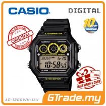 [READY STOCK] CASIO STANDARD AE-1300WH-1A  Unisex Digital Watch 10Y Bat80t. Interval.T