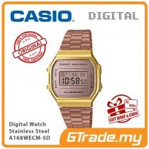 CASIO Standard A168WECM-5D Digital Watch | Vintage Series