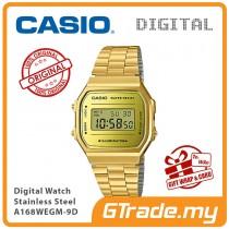 CASIO Standard A168WECM-9D Digital Watch | Vintage Series