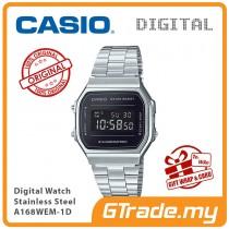 [READY STOCK] CASIO Standard A168WEM-1D Digital Watch | Mirror finishing face