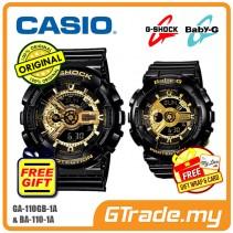 [READY STOCK] CASIO G-SHOCK BABY-G GA-110GB-1A & BA-110-1A Couple Watch