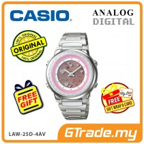 [READY STOCK] CASIO POPTONE LAW-25D-4AV Analog Digital Watch | Wolrd.T WR50m