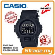 [G-ZONE] CASIO G-SHOCK DW-6900BBN-1D Digital Watch | Cordura Band Matte Black