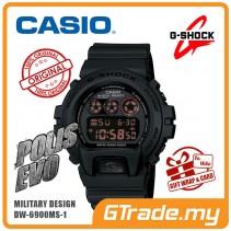 [G-ZONE] CASIO G-SHOCK DW-6900MS-1 Digital Watch | POLIS EVO Military Look