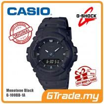 [G-ZONE] CASIO G-SHOCK G-100BB-1A Analog Digital Watch | Matte Mono Black