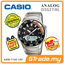 [READY STOCK] CASIO OUTGEAR AMW-710D-1AV Marine Gear Watch | Tide.G Moon.P WR100m