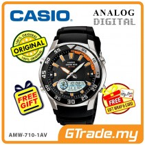 [READY STOCK] CASIO OUTGEAR AMW-710-1AV Marine Gear Watch | Tide.G Moon.P WR100m