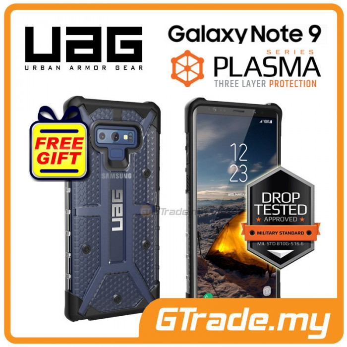 arrives 6019b f9722 UAG Urban Armor Gear Plasma Case Samsung Galaxy Note 9 Ice *Free Gift