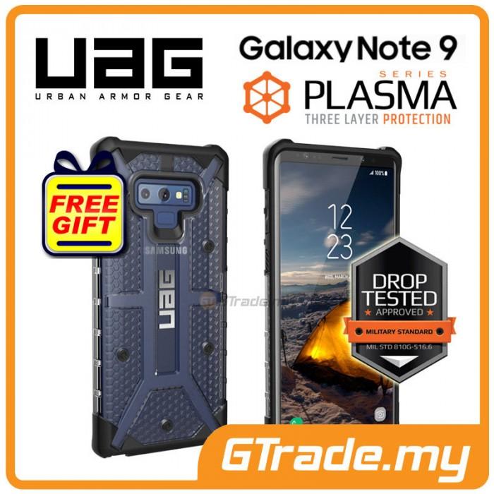 arrives 6019b f9722 UAG Urban Armor Gear Plasma Case Samsung Galaxy Note 9 Ice *Free Gift