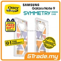 OTTERBOX Symmetry Clear Stylish Case Samsung Galaxy Note 9 Triangle *Free Gift