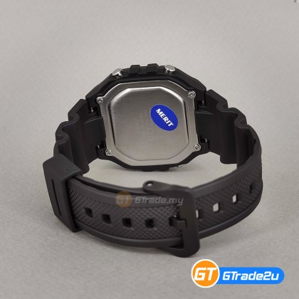[READY STOCK] CASIO Men W-218H-1A Digital Watch | 50-meter Water Resist. Daily alarm