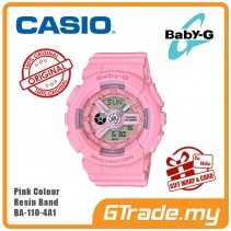 [G-ZONE] CASIO BABY-G BA-110-4A1 Digital Ladies Women Watch | New Pink Color