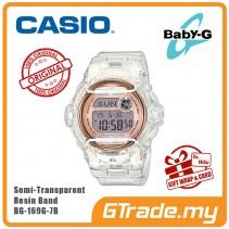 [G-ZONE] CASIO BABY-G BG-169G-7B Digital Ladies Women Watch | New Pastel Color