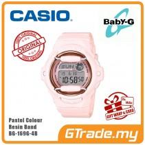 [G-ZONE] CASIO BABY-G BG-169G-4B Digital Ladies Women Watch | New Pastel Color