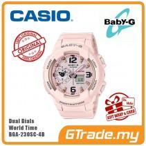 [G-ZONE] CASIO BABY-G BGA-230SC-4B Ladies Women Digital Watch | World Traveling