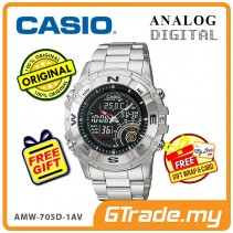 [READY STOCK] CASIO OUTGEAR AMW-705D-1AV Hunting Gear Watch | Timer.Thermo.Moon.Data