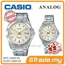 [READY STOCK] CASIO Couple MTP-1308D-9A & LTP-1308D-9A Analog Watches | Rose Additions