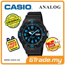 CASIO STANDARD MRW-200H-2BV Analog Mens Watch | Day Date Display