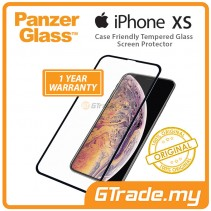PanzerGlass Case Friendly Tempered Glass Screen Protector |Apple iPhone Xs X