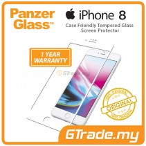 PanzerGlass Case Friendly Tempered Glass Screen Protector |Apple iPhone 8 7 6s W