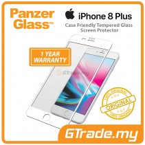 PanzerGlass Case Friendly Tempered Glass Screen Protector |Apple iPhone 8 7 6s Plus W