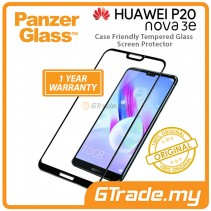 PanzerGlass Case Friendly Tempered Glass Screen Protector |Huawei P20 Lite Nova 3e