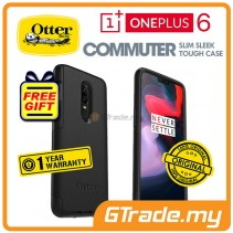 OTTERBOX Commuter Dual Layer Tough Case | Oneplus One Plus 6 Black *OTBR